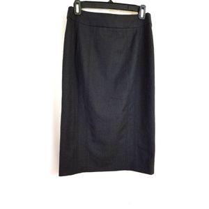 Armani Collezioni Size 6 Gray Pencil Skirt Italy